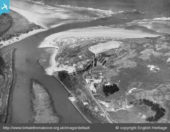 The Power Station and Pentowan Calcining Works, Hayle, 1924